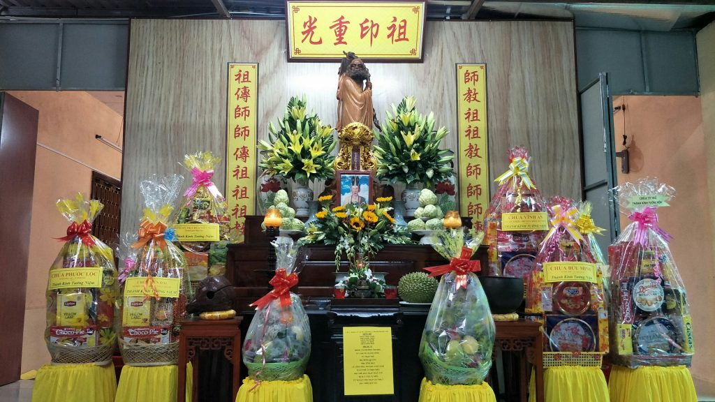 Bến Tre: Lễ Húy kỵ tưởng niệm Giác linh Cố Hòa thượng Thích Vĩnh Đạo – Nguyên Trụ Trì chùa Thinh Văn, TP. Bến Tre