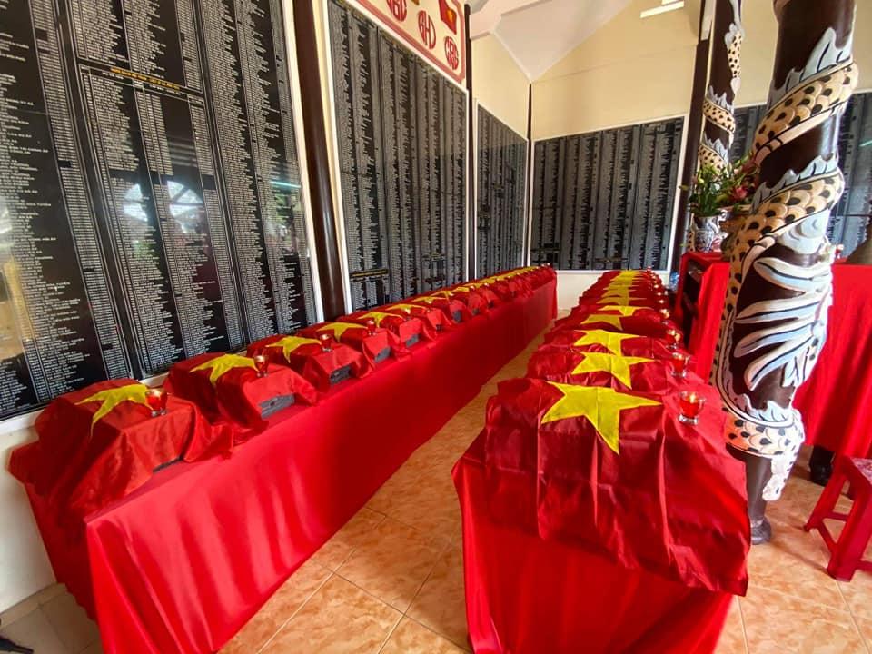 Bến Tre: Lễ truy điệu, kỳ siêu, cải táng 30 hài cốt Anh hùng liệt sĩ tại Nghĩa trang huyện Châu Thành.