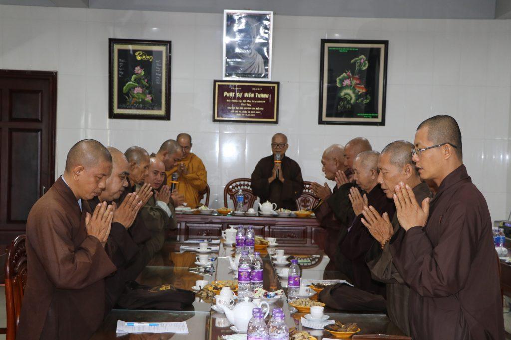 Bến Tre: Ban Trị sự GHPGVN tỉnh họp báo cáo công tác Phật sự tháng 06, năm 2020