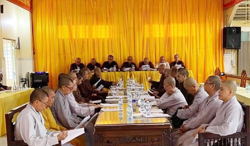 Bến Tre: Hiệp thương nhân sự Ban Trị Sự GHPGVN huyện Ba Tri nhiệm kỳ VII (2021- 2026)