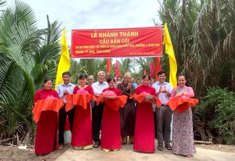 Bến Tre: Khánh thành cầu Bần cối – công trình giao thông nông thôn
