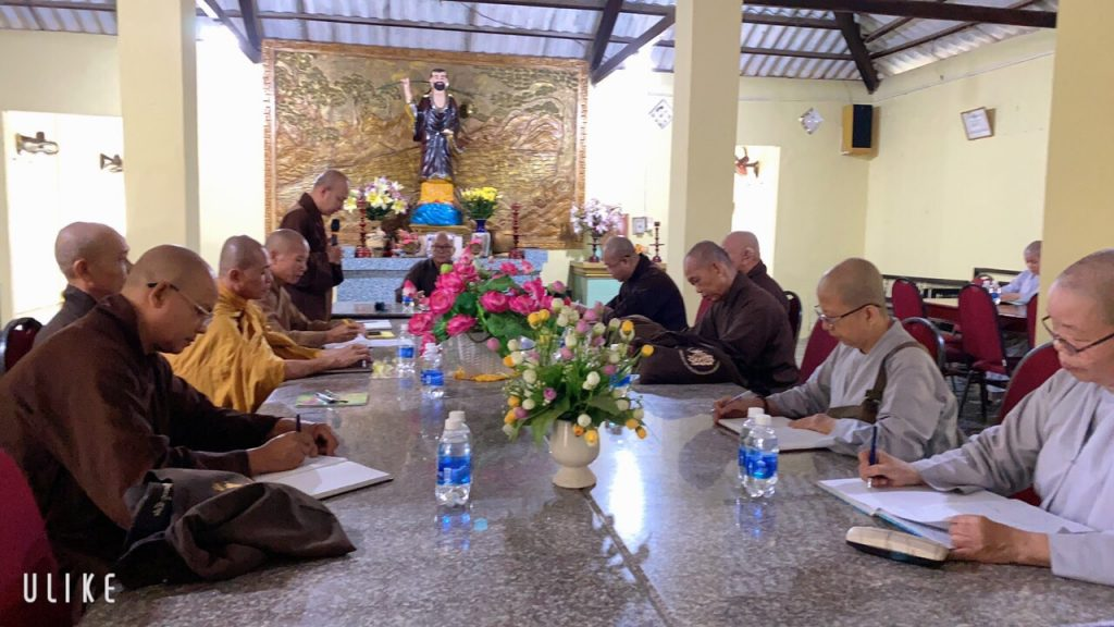 Bến Tre: Ban Trị Sự GHPGVN huyện Mỏ Cày Nam Hiệp thương nhân sự nhiệm kỳ VII (2021- 2026)