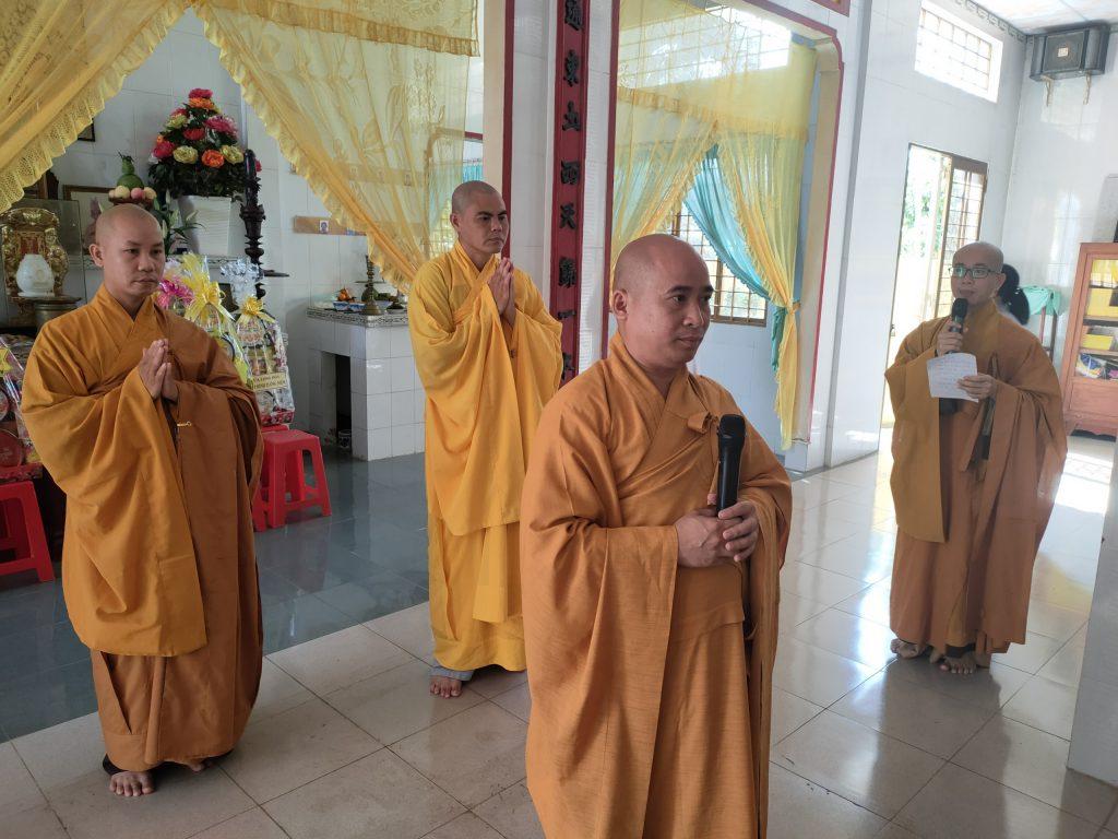 Lễ Hiệp Kỵ Hòa Thượng Thích Bửu Tánh Nguyên Trụ Trì Chùa Qui Thuận