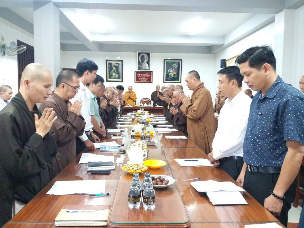 Bến Tre: Ban Trị Sự GHPGVN tỉnh hội nghị tổng kết công tác Phật sự năm 2020