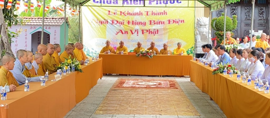Bến Tre: Lễ khánh thành và an vị Phật chùa Kiển Phước