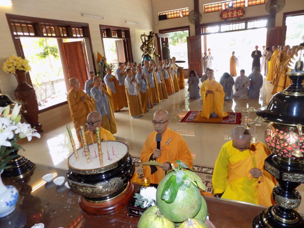 Bến Tre: Chùa Phú Long tổ chức lễ húy kỵ tưởng niệm giác linh cố Hòa Thượng Thích Chánh Nguyên