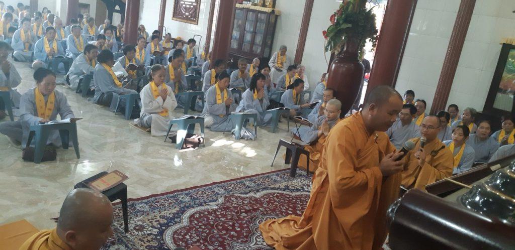 Bến Tre: Đạo tràng chùa Phước Lộc tổ chức Khóa tu một ngày an lạc