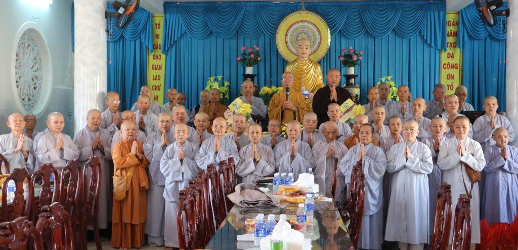 Bến Tre: Phân ban Ni giới tỉnh Bến Tre họp triển khai công tác Phật sự đầu năm 2021
