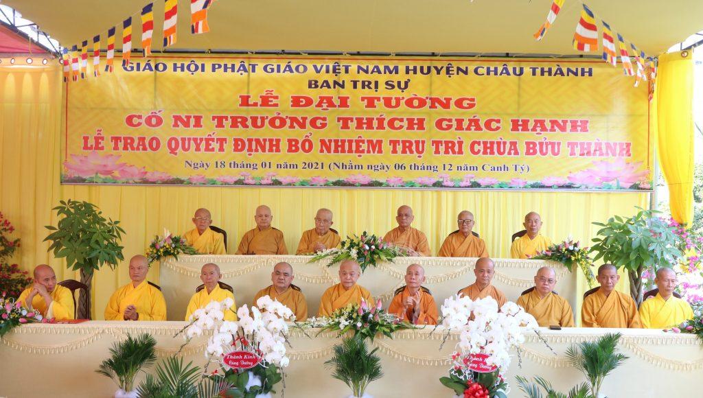 Bến Tre: Lễ Đại Tường cố Ni Trưởng Thích nữ Giác Hạnh và trao quyết định bổ nhiệm trụ trì chùa Bửu Thành