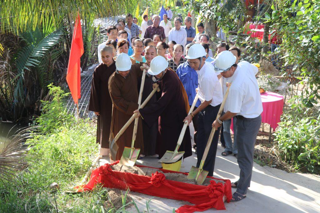 Bến Tre: Lễ khởi công xây dựng cây cầu – Tổ nhân dân tự quản số 19