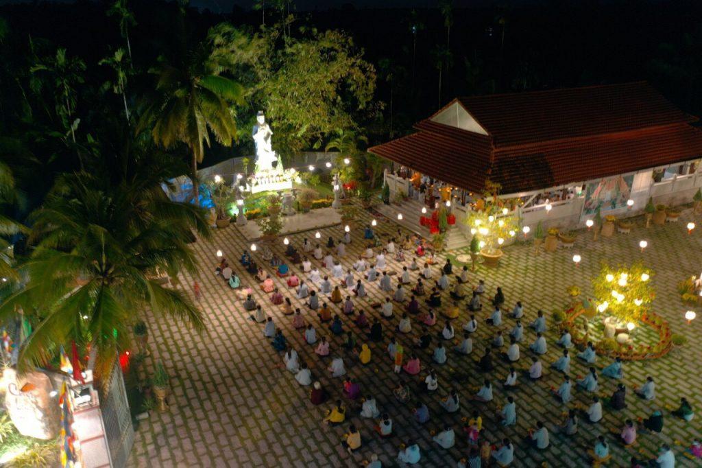 Bến Tre: Chùa Long Hóa khai đàn Dược Sư, Lễ hội hoa đăng, Phóng sanh cầu Quốc thới dân an