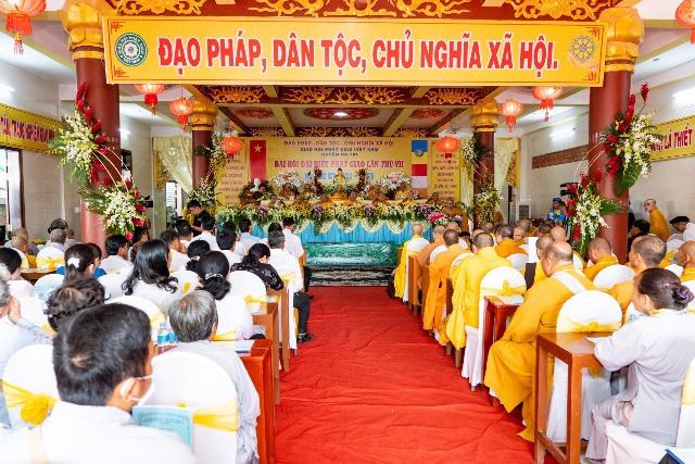 Bến Tre: Đại hội Đại biểu Phật giáo huyện Ba Tri nhiệm kỳ VII (2021-2026)