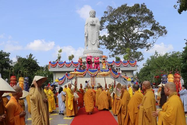 Bến Tre: Chùa Phước Long tổ chức lễ khánh thành vườn đại nguyện và hiệp kỵ tưởng niệm chư vị tổ sư