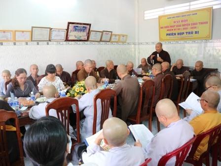 Bến Tre: Phiên họp Trù bị Đại biểu đại hội Phật giáo huyện Châu Thành nhiệm kỳ VII (2021-2026)
