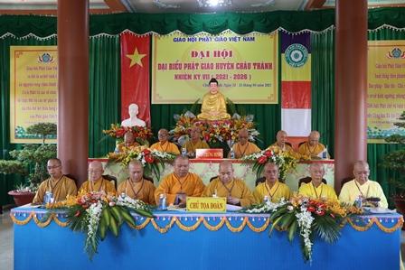 Bến Tre: Khai mạc Đại hội đại biểu Phật giáo huyện Châu Thành nhiệm kỳ VII (2021-2026)