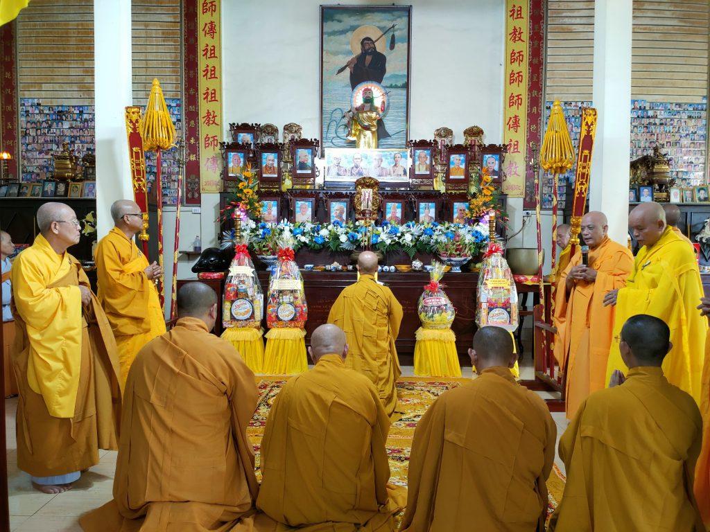 Bến Tre: Lễ Húy kỵ Giác linh Cố Hòa thượng Thích Vĩnh Thiệu – Nguyên đệ nhất Trụ trì chùa Viên Minh