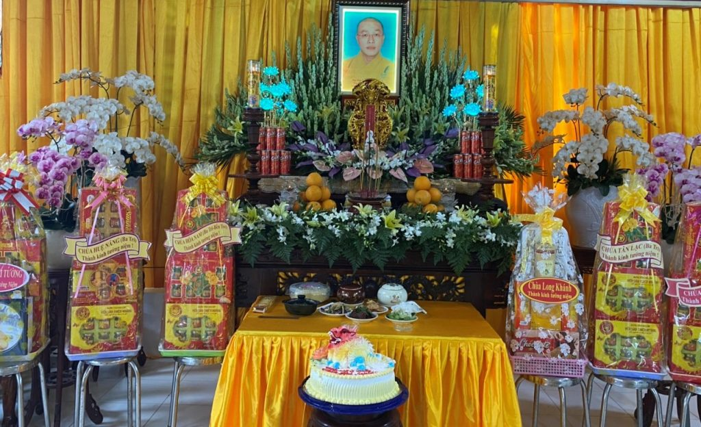 Ba Tri: Chùa Long Phước tổ chức lễ Tiểu Tường Cố Đại Đức Thích Huệ Nghiêm