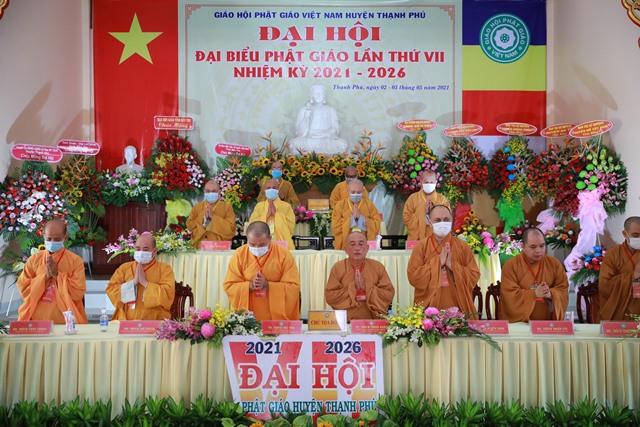 Bến Tre: Thượng tọa Thích Thiện Hạnh tái đắc cử Trưởng Ban Trị sự Phật giáo huyện Thạnh Phú